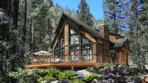Beaver Homes and Cottages designer cottage Ashland-TFH