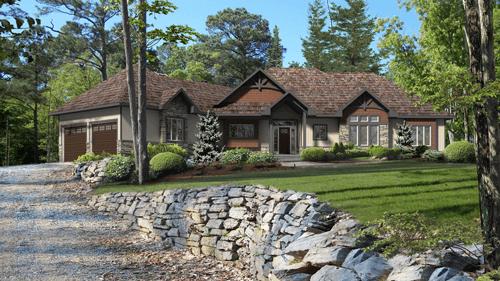Beaver Homes and Cottages' Glenbriar-2 model home