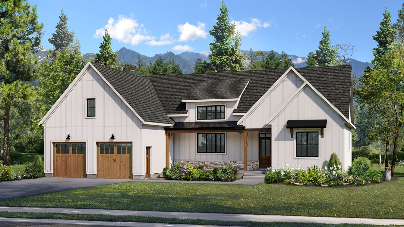 Beaver Homes and Cottages' Cranbrook Two Storey Home